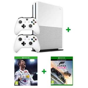 Xbox one s forza 3 , FIFA 18 , extra controller , 1 month live £229.99 smythstoys