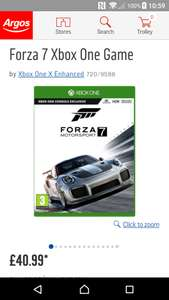 Forza motorsport 7 - £40.99 at Argos
