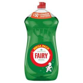 Fairy Original Washing Up Liquid 1.35 ltr @ Asda (instore & Online) - £2
