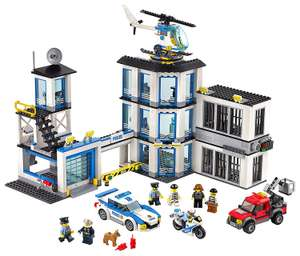 LEGO City Police Station (60141) £62.98 w/code @ Toys R Us