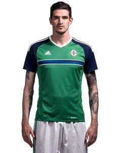 Northern Ireland 2016 Home and Away Shirts £20 @ JDSports (free click & collect) £3.99 delivery