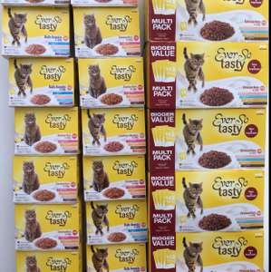 Pets at Home - Ever So Tasty Cat Food 12pk for £1, 48pk for £3. IN STORE ONLY.