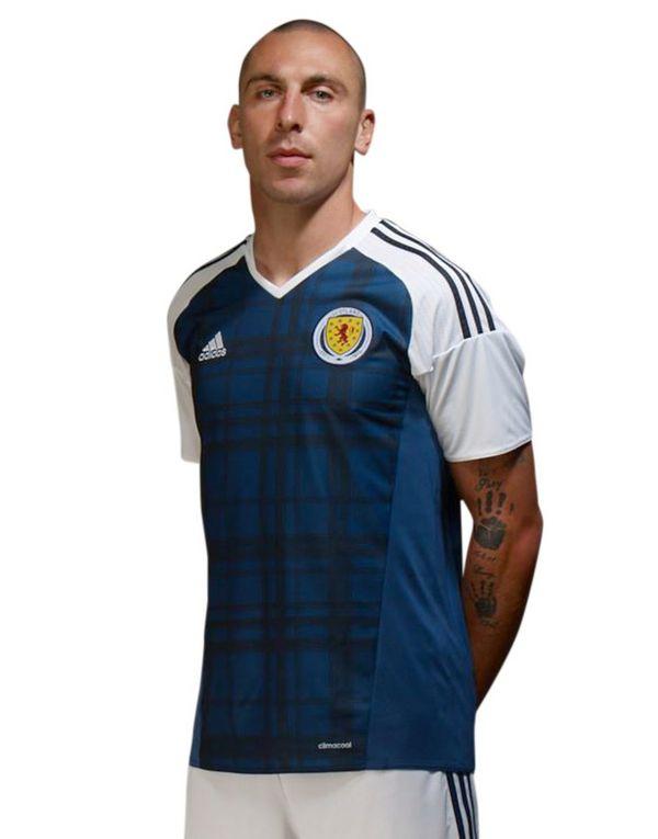adidas Scotland 2016 Home Shirt @ JD Sport for £23.99 delivered