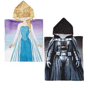 Star Wars Hooded Towel OR Disney Frozen Hooded towel £4.90 each (Free C&C) @ Dunelm - See OP for others at £8.40