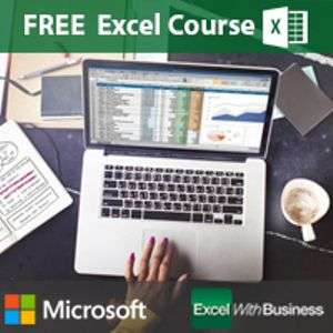 Free Excel training (worth £39) with redemption code