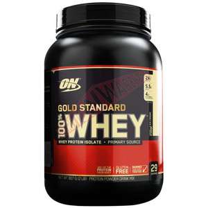 Optimum Nutrition Gold Standard Whey Protein Holland and Barretts £22.49 In Store / online