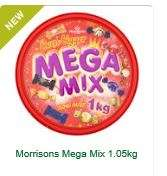 Mega Mix Tub 1050g - £4 Morrisons