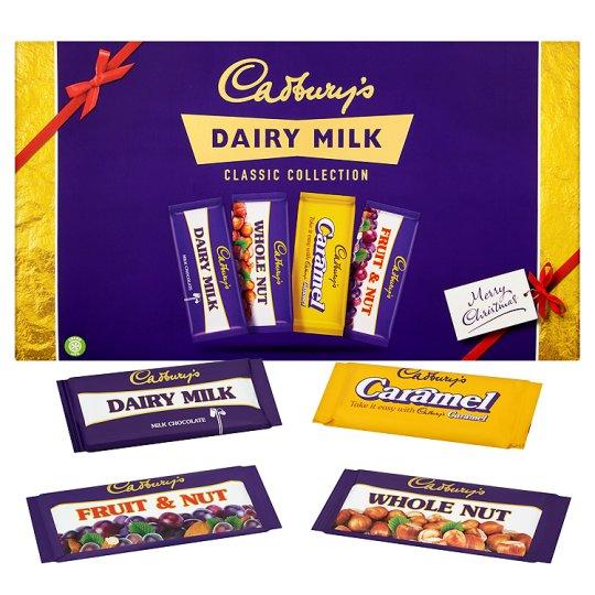 Cadbury Retro Selection Box 460G (4 Bars) £2.50 @ Tesco