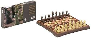 Cayro Magnetic Chess Checkers Game (Large) £4.12 (Add-on Item) @ Amazon