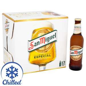 12 bottles San Miguel 330ml reduced to £7.00 @ Morrisons