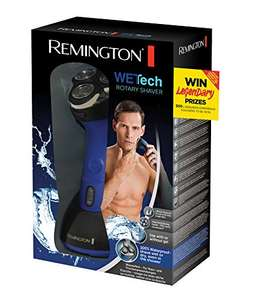Remington AQ7 Wet Tech Wet and Dry Rotary Electric Shaver - Black/Blue £27.50 @ Amazon