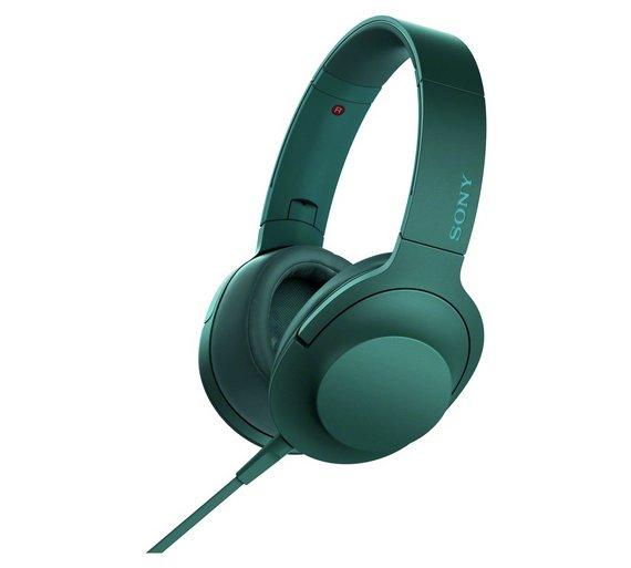Sony h.ear on MDR100AAPL Headphones - Blue £60.99  @ Argos