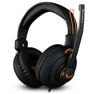 Ovann Gaming Headphones with Mic for £10.99 prime / £14.98 non prime Sold by Ibiza-island and Fulfilled by Amazon - Lightning deal