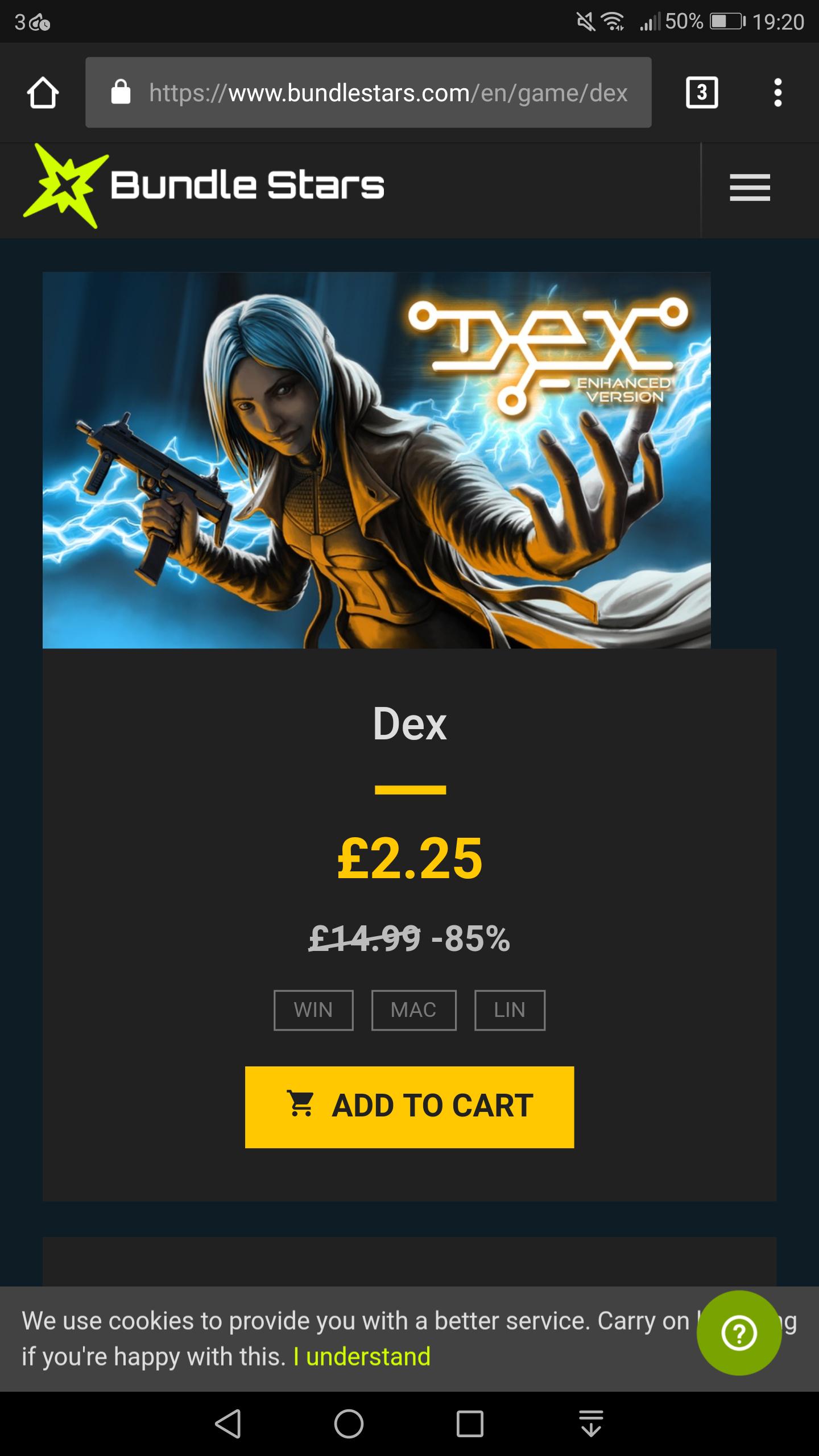 Dex - Bundlestars Star Deal - £2.25 (85% Off) Steam