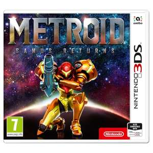 [Nintendo 3DS/2DS] Metroid Samus Returns £29.69 (with code) +2% topcashback @ 365games