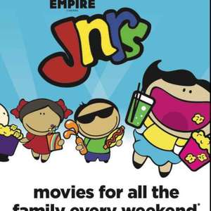 Empire Juniors new season films - £1.50pp Sat/Sun mornings