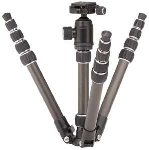 AmazonBasics 52-Inch Carbon Fiber Travel Tripod with Bag £9.97 prime / £14.72 non prime @ Amazon (Temporarily out of stock) order now for delivery later when stock available 1218 ratings average 4.5* Lowest price ever