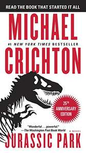 Jurassic Park by Michael Crichton 49p on Kindle @ Amazon