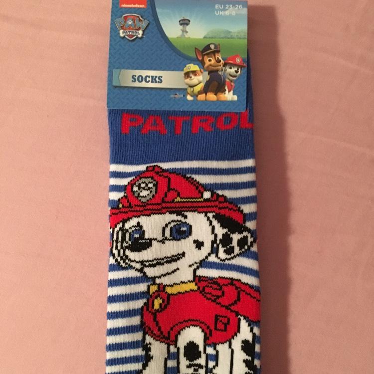 Children's Paw Patrol Socks - instore @ Poundland - 50p (Found Walsall)
