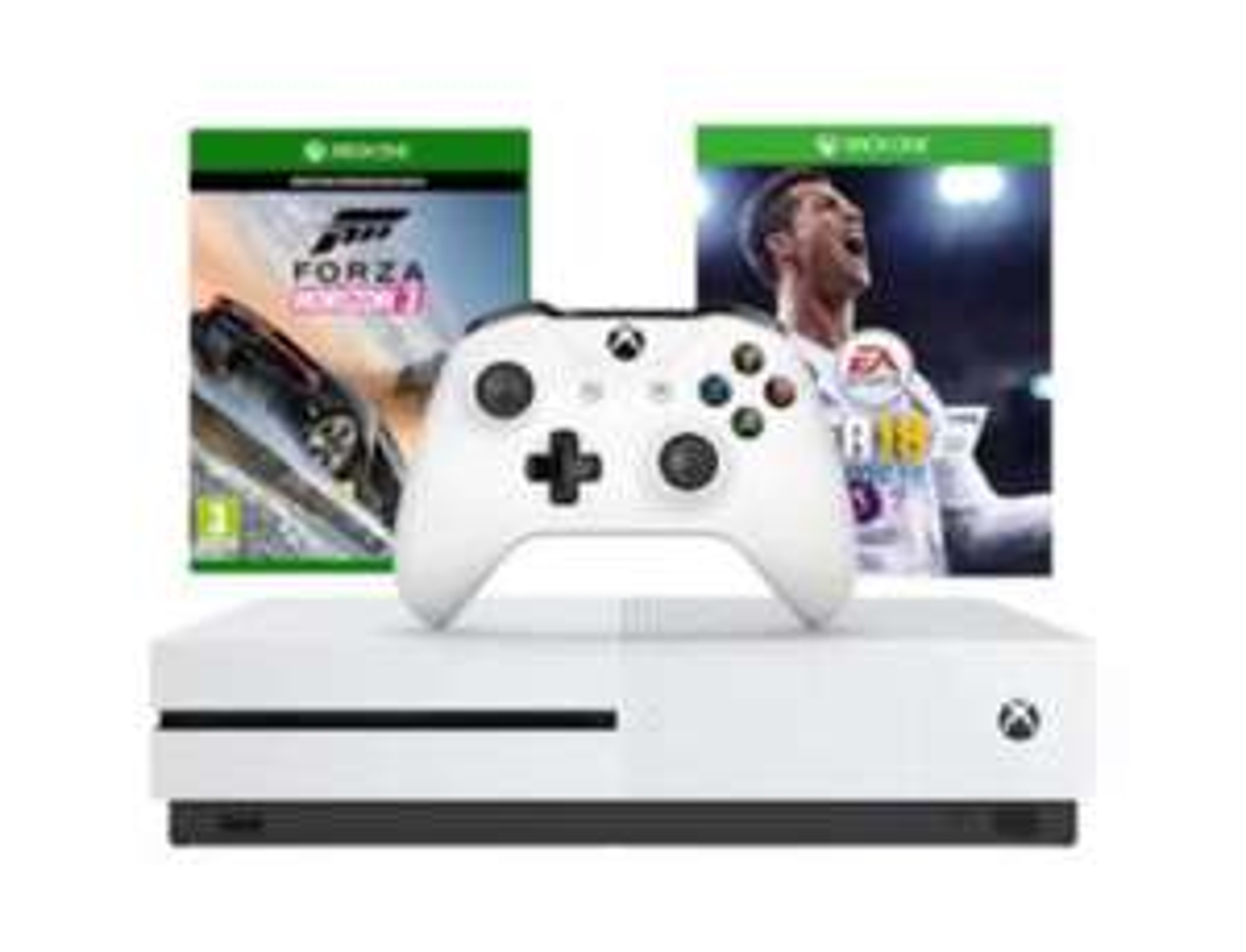 Xbox One 500GB with  Forza Horizon 3 & FIFA 18 Ronaldo Edition £199.99 @ Grainger games