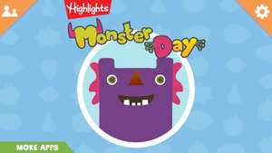 Highlights monster day android app - for toddlers - free download @ Google Play