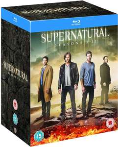 Supernatural bluray boxset, all seasons 1-12 £74.99 Zavvi