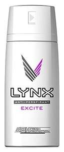 Lynx Excite Anti-Perspirant Deodorant 150ml, (Pack of 3) £2.70 (Add-on Item) @ Amazon