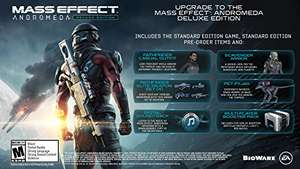 Mass Effect Andromeda Deluxe - Xbox One £14 - Amazon US