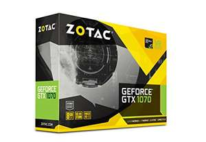 Zotac Nvidia GeForce GTX 1070 mini £349.99 @ amazon.co.uk