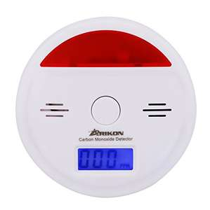 Carbon Monoxide Detector CO Alarm £5.99 (Prime) £9.98 (Non Prime) @ Sold by JIKAD and Fulfilled by Amazon