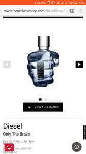 Diesel only the brave 125ml - £34.99 @ The Perfume Shop