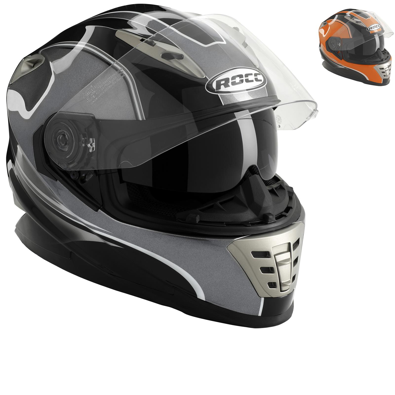 ROCC 485 Motorcycle Helmet £39.99 - ghostbikes