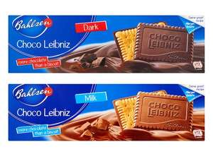 Bahlsen Milk or Dark Chocolate Leibniz Biscuit 125g only 74p @ Tesco