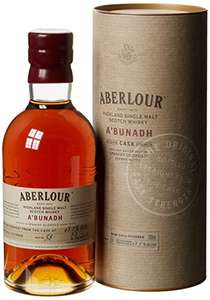 Aberlour A'Bunadh Cask Single Malt Whisky, 70 cl - £38 at Amazon