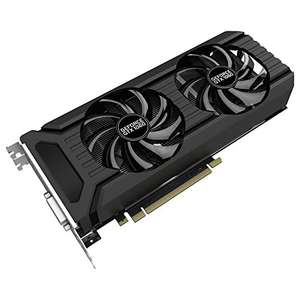 PALIT dual fan GTX 1060 6GB £239.99 - Amazon