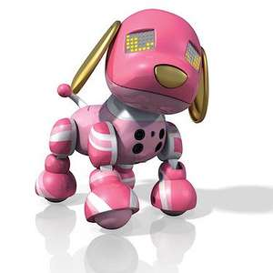 Zoomer Zuppies - Candy Robotic Puppy £11.99 (was £39.99) + Free C&C or £3.99 home del @ The Entertainer online