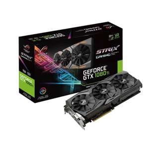 Asus GTX 1080Ti ROG Strix 11GB Graphics Card + Free copy of Middle-Earth: Shadow Of War £729.98 @ Ebuyer