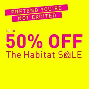 Sale up to 50% off at Habitat