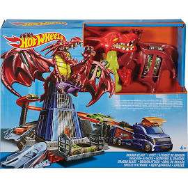 Hot wheels Dragon Blast playset £12.50 @ Debenhams - £2 c&c