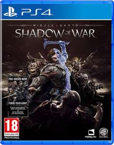 Middle-Earth: Shadow of War (PS4) inc Pre-Order Bonus DLC ***PRE-ORDER ITEM*** £34.79 @ Funbox Media Ltd / Ebay