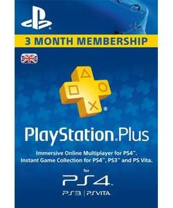 Playstation PLUS - PSN PLUS Card - 90 days £14.43 @ MMOGA