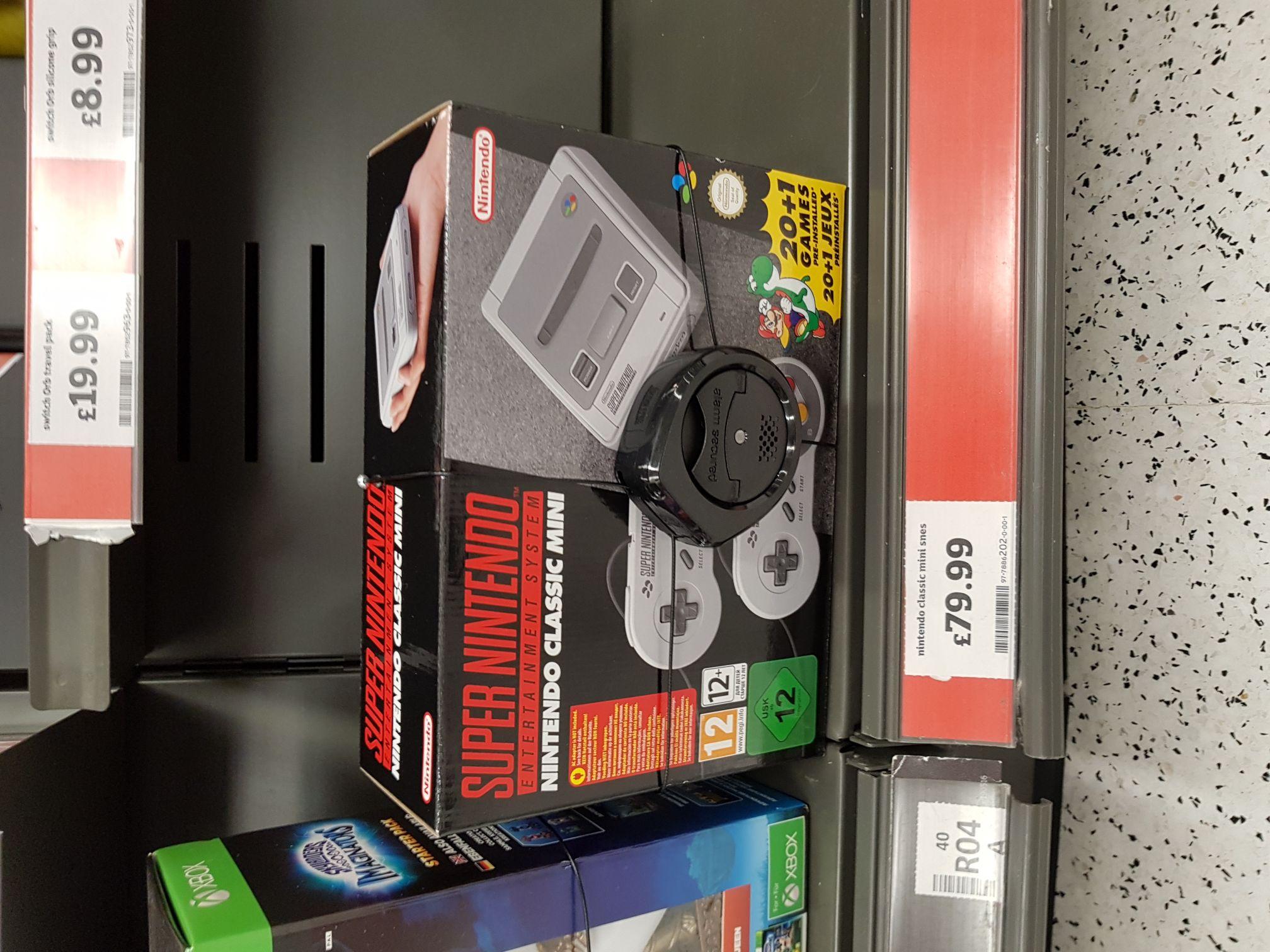 Snes classic mini Nintendo - £79.99 instore @ Sainsburys Ashton under lyne