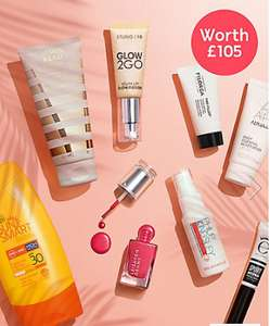 M&S summer beauty box £10 (free C+C), no linked buy required