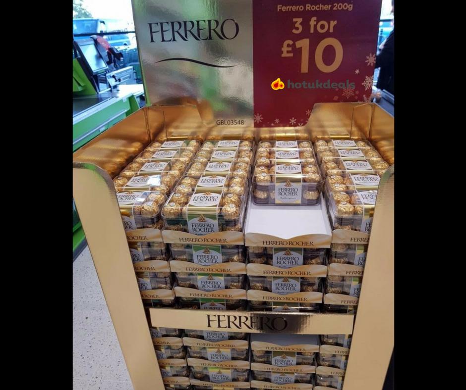 FERRERO ROCHER - 3 FOR £10 instore @ Asda