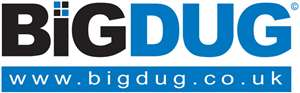 Free Next Working Delivery on ALL orders at BigDug.co.uk