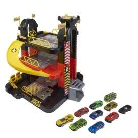 Teamsterz 3 Level Garage With 10 Die Cast Cars now just £20 @ Tesco Direct