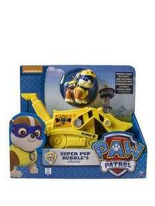 Paw Patrol Super Pup Rubble's Crane - £10.99 (free C+C) @ Very