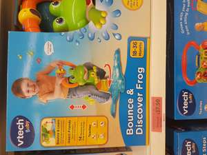 Vtech Bounce & Ride Frog £17.50 instore @ Sainsburys
