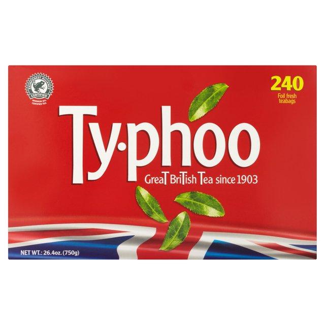 Typhoo 240 Tea bags £1.25 instore @ Tesco Exe Vale