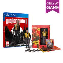 Wolfenstein 2: The New Colossus Collectors Edition £59.99 @ Game
